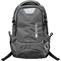 CANYON Backpack for 15.6\'\' laptop, dark gray (Material: 840D Nylon)