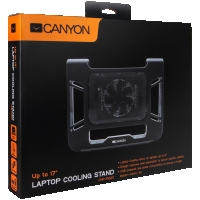 "Canyon Laptop Cooling Stand for laptop up to 17"", black"