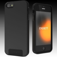 CYGNETT iPhone 5s case SecondSkin Silicone Black.