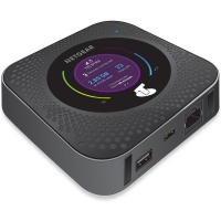 "Netgear Nighthawk LTE Mobile Hotspot Router, 802.11ac, 4x4 MIMO, 2.4"" LCD panel"