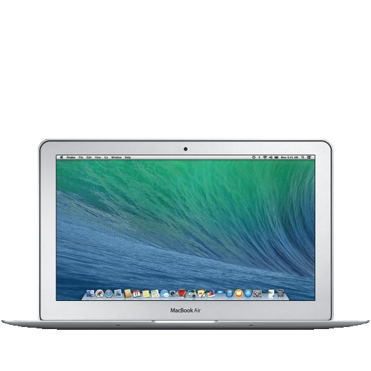 MacBook Air 11-inch, 1.7GHz Intel Dual-Core Core i7, Turbo Boost up to 3.3GHz, 8GB, 128GB Flash Storage, Backlit Keyboard
