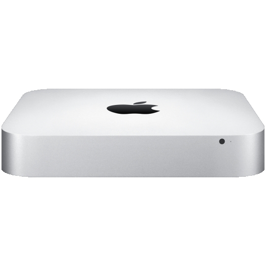 Apple Mac Mini Model A1347: 1.4GHz Dual-Core Intel Core i5, 4GB SDRAM, 500GB Serial ATA Drive, Intel HD Graphics 5000, OS X Yosemite