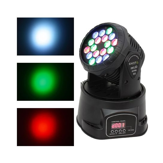 MOVING HEAD  LED BEAM 18X3W